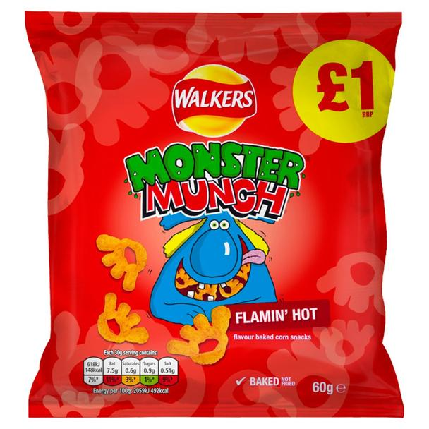 Monster Munch Hot  £1