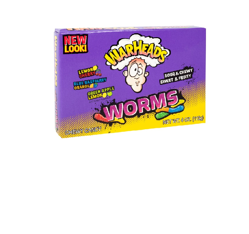 Warheads Worms Box