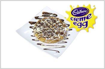 Creme Egg Waffle