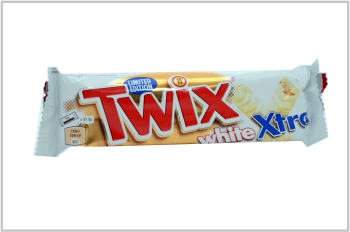 White Twix Soft Serve