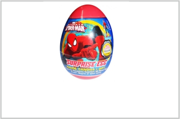 Spiderman Surprise Egg