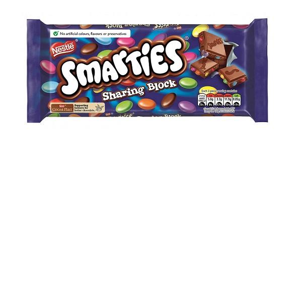 Smarties Bar 100g