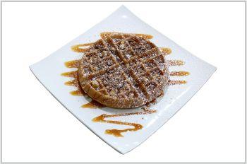 Salted Caramel Waffle