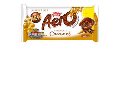 Aero Caramel Bar