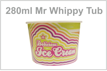 280ml Whippy Tub