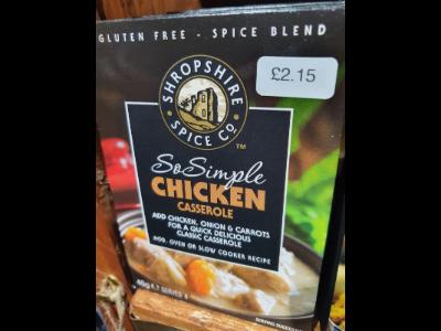 Chicken Casserole Blend