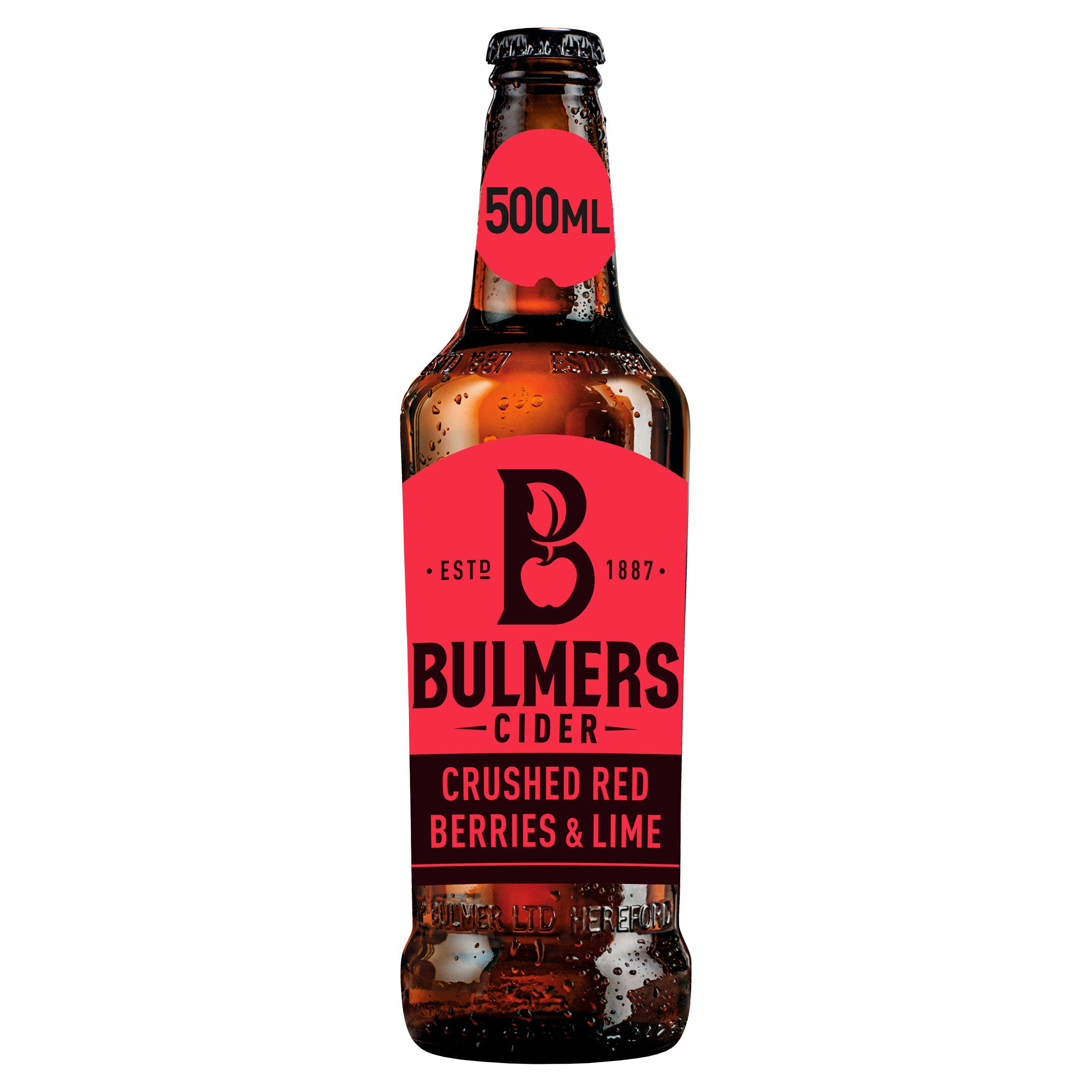 Bulmers Crushed Red Berries & Lime