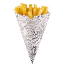 SMALL CONE OF CHIPS