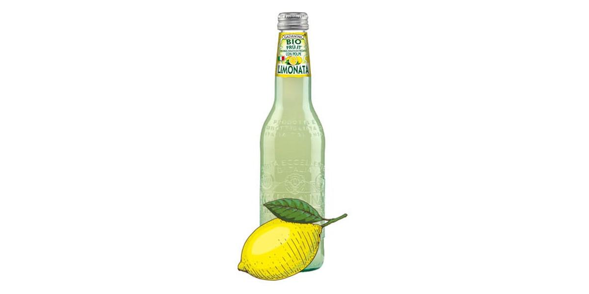 Organic Sparkling Lemon 355ml