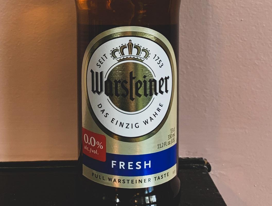 Warsteiner fresh 0.0%