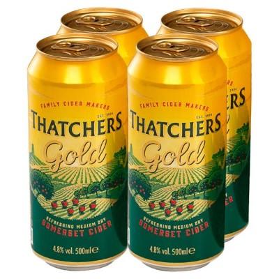 Thatchers Gold 4 x 500ml