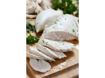 Sunday Poached Chicken