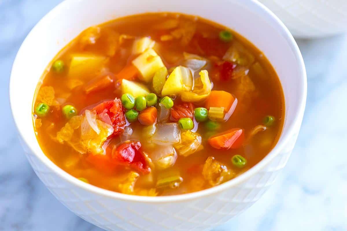 Sunday Vegetable Soup