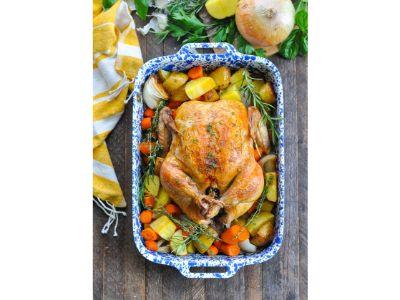 Sunday 1/2 Roast Chicken