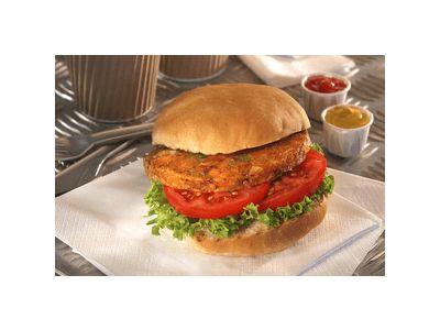 Spicy Bean Burger (v)